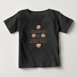 Cinnamon rolls not gender roles baby T-Shirt