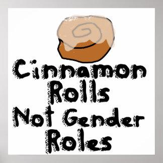Cinnamon Rolls not gender roles Poster