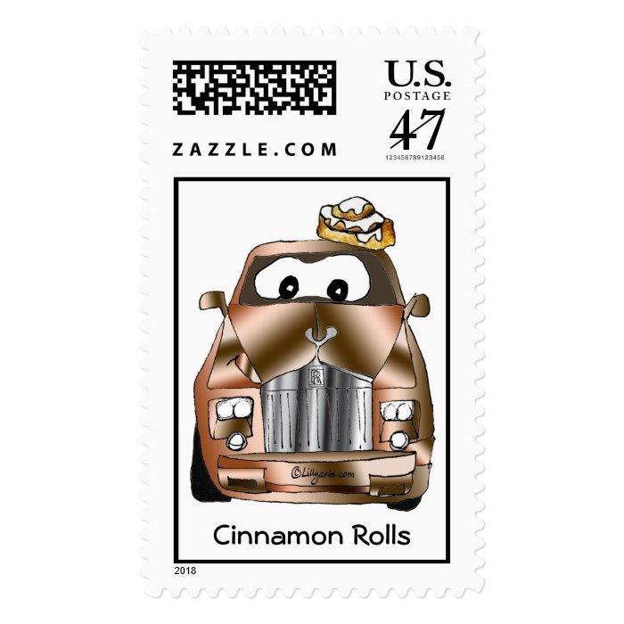 Cinnamon Rolls (Royce) Custom Postage