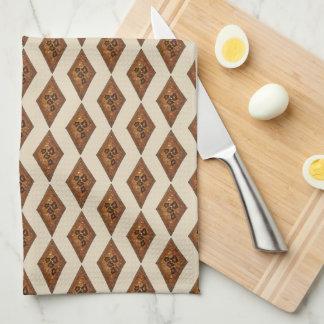 Cinnamon Spice Sugar Sand Tart Christmas Cookie Towel