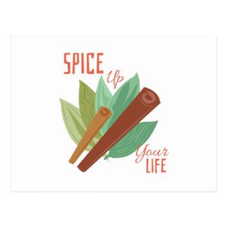 Cinnamon_Spice_Up_Your_Life Postcard