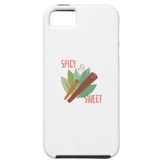 Cinnamon_Spicy_&_Sweet iPhone 5 Cover