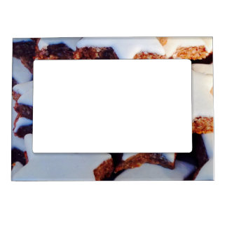 Cinnamon Star Cookies Magnetic Picture Frame