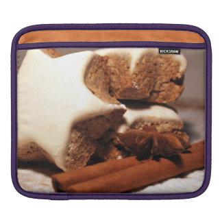 Cinnamon Sticks and Star Cookies Sleeve For iPads