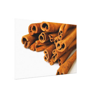 Cinnamon sticks gallery wrapped canvas