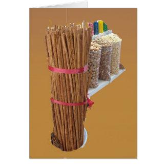 Cinnamon Sticks II Card