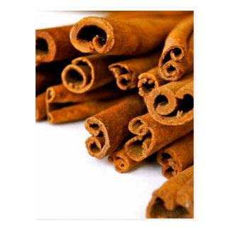 Cinnamon sticks postcard