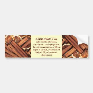 Cinnamon Tea bumper sticker