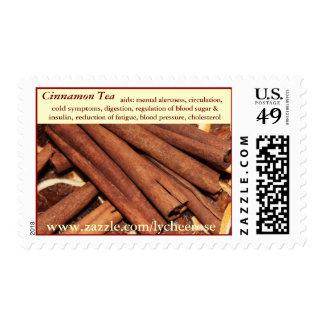Cinnamon Tea postage stamp