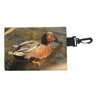 Cinnamon Teal Duck Bird Wildlife Animal Pond Bag Accessories Bag