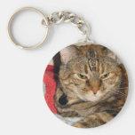 Cinnamon the Cat Keychains