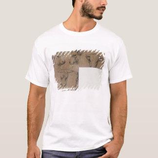 Cinq Croquis de tete de vache (pencil on paper) T-Shirt