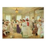 Cinq Heures chez le Couturier Paquin, 1906 Postcard