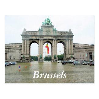 Cinquantenaire Arch Brussels Postcard