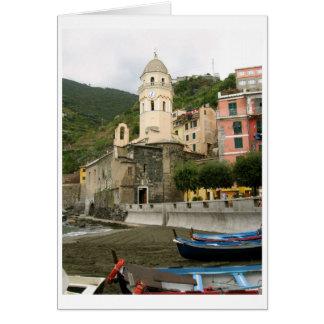 Cinque Terra, Vernazza, Italy Card