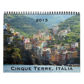 cinque terre 2013 calendar