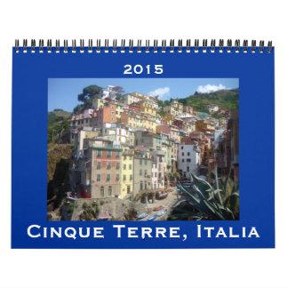 cinque terre 2015 calendar