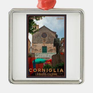 Cinque Terre - Corniglia Christmas Tree Ornament