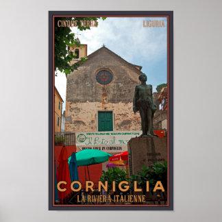 Cinque Terre - Corniglia Poster