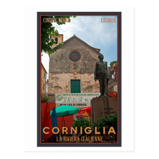 Cinque Terre - Corniglia Postcard
