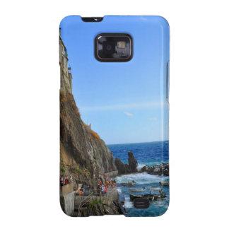 Cinque Terre Samsung Galaxy SII Carcasa
