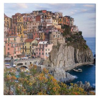 Cinque Terre, Italia Azulejo Cuadrado Grande