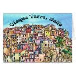 Cinque Terre, Italia Card