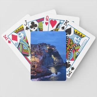 Cinque Terre, Italia Baraja De Cartas