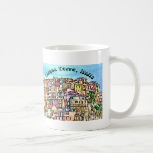Cinque Terre, Italia Coffee Mug