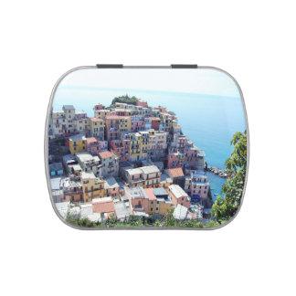 Cinque Terre, Italia Frascos De Dulces