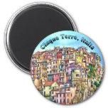Cinque Terre, Italia Fridge Magnet