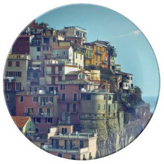 Cinque Terre, Italia Platos De Cerámica