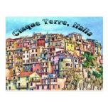 Cinque Terre, Italia Post Cards