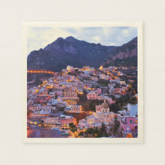 Cinque Terre, Italia Servilletas Desechables