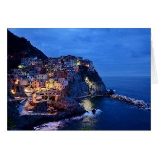 Cinque Terre, Italia Tarjeta De Felicitación