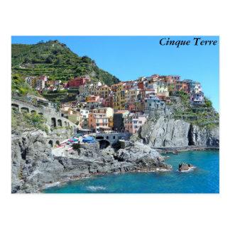 Cinque Terre, Italia Tarjeta Postal