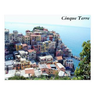 Cinque Terre, Italia Tarjetas Postales