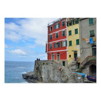 Cinque Terre, Italy 2015 pocket calendar Business Card Templates
