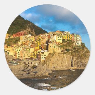 Cinque Terre, Italy Classic Round Sticker