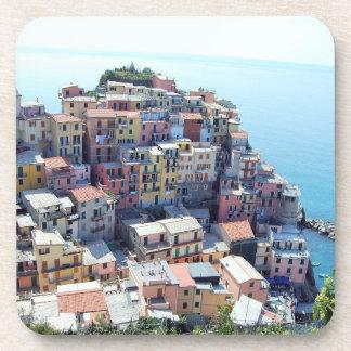 Cinque Terre, Italy Drink Coaster