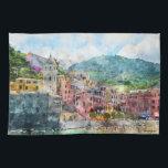 "Cinque Terre Italy in the Italian Riviera Kitchen Towel<br><div class=""desc"">Cinque Terre Italy in the Italian Riviera</div>"