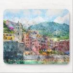 """Cinque Terre Italy in the Italian Riviera Mouse Pad<br><div class=""""desc"""">Cinque Terre Italy in the Italian Riviera</div>"""