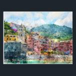 """Cinque Terre Italy in the Italian Riviera Postcard<br><div class=""""desc"""">Cinque Terre Italy in the beautiful Italian Riviera</div>"""