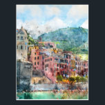 "Cinque Terre Italy in the Italian Riviera Postcard<br><div class=""desc"">Cinque Terre Italy in the beautiful Italian Riviera</div>"