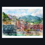 """Cinque Terre Italy in the Italian Riviera Postcard<br><div class=""""desc"""">Cinque Terre Italy in the Italian Riviera</div>"""