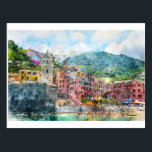 "Cinque Terre Italy in the Italian Riviera Postcard<br><div class=""desc"">Cinque Terre Italy in the Italian Riviera</div>"