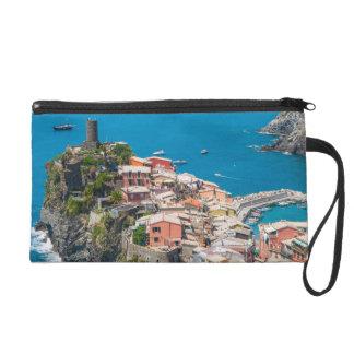 Cinque Terre Italy in the Italian Riviera Wristlet Purse