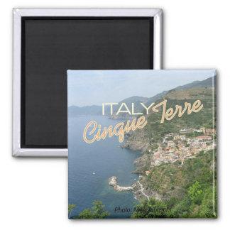 Cinque Terre Italy Italia Seascape Scene Magnets