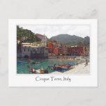 "Cinque Terre Italy | Italian Riviera Postcard<br><div class=""desc"">Cinque Terre Italy or the Italian Riviera romantic vacation destination.</div>"