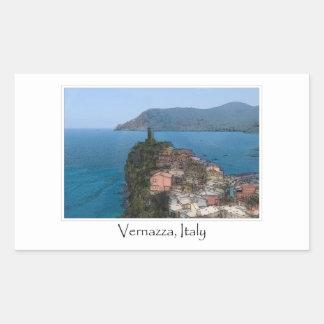Cinque Terre Italy | Italian Riviera Rectangular Sticker